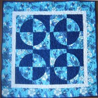 Baby Drunkard's Path Quilt Pattern(BG-0006)