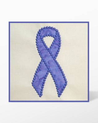 GO! Awareness Ribbon Embroidery Designs by Marjorie Busby (BQ-ARe)
