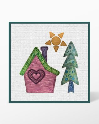 GO! Home Embroidery Designs by Marjorie Busby