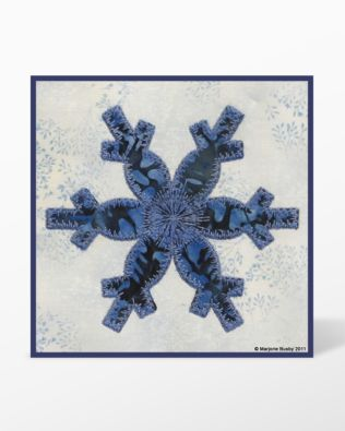 GO! Snowflake Embroidery Designs by Marjorie Busby (BQ-SFe)