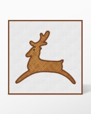 GO! Sleigh-Reindeer-Snowflakes Embroidery Designs by Marjorie Busby (BQ-SRSe)