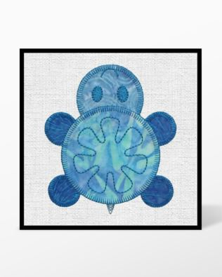 GO! Turtle Treks Embroidery Designs by Marjorie Busby