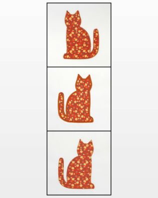 GO! Calico Cat Embroidery Designs