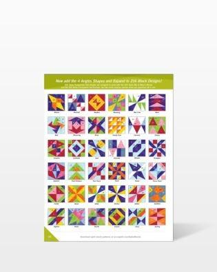 GO! Mix & Match Quilt Blocks Pattern Ideas (PQMMQD-GO)