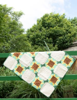 "GO! Qube 9"" Summer Fields Quilt Pattern"