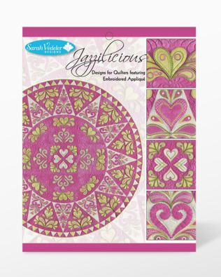 Jazzilicious Embroidery Designs CD for GO! by Sarah Vedeler (JAZZ-01)