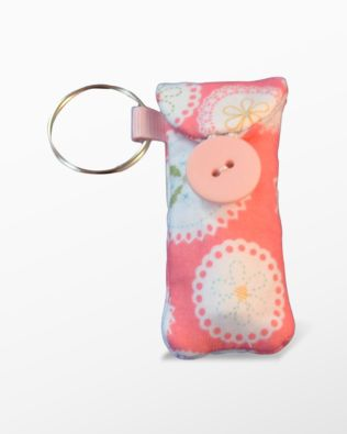 Lovely Little Lip Balm Case In the Hoop Embroidery Design By Pickle Pie Designs