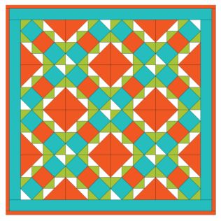 GO!® Energize Table Topper Quilt Pattern (PQ10211i)