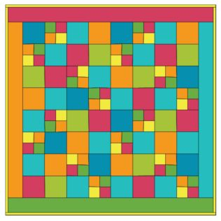 GO!® 4-Patch Fun Quilt Pattern- Free (PQ10212i)