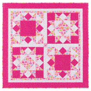 GO!® Big Block Quilt Pattern (PQ10214i)