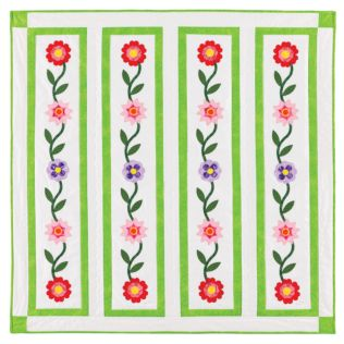 GO! Flower Ribbon Wall Hanging Pattern (PQ10304)