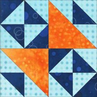 "GO! Double Cross 12"" Block Pattern (PQ10447)"