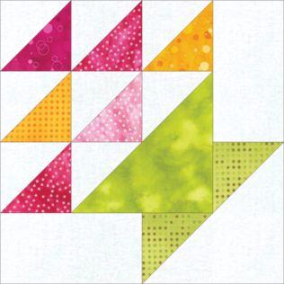 "GO! Flower Basket 12"" Block Pattern (PQ10454)"