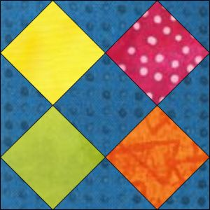 "GO! Broken Sash 9"" Block Pattern (PQ10530)"