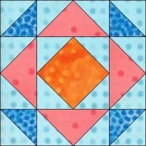 "GO! Depression 6"" Block Pattern (PQ10604)"