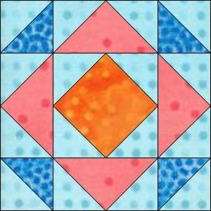 "GO! Depression 12"" Block Pattern"