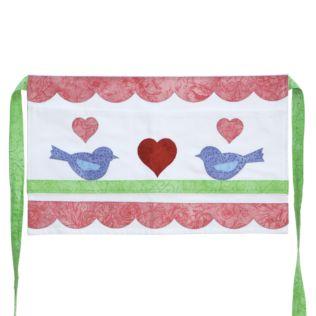 GO! Lovebirds Apron Pattern (PQ10434)