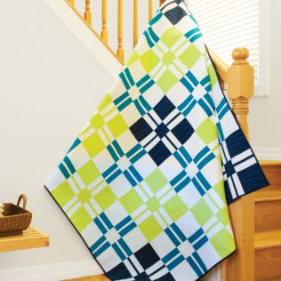 GO! Add It Up Bed Quilt (PQ10435)