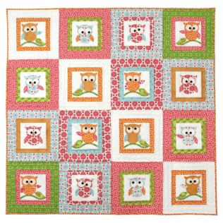 GO! Owl-rageous Wall Hanging Pattern (PQ10506)
