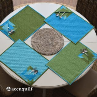 GO! Hunter Star Pocket Placemat Pattern (PQ10524)