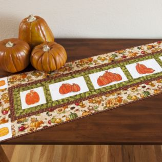 GO! Pick of the Patch Table Runner Pattern (PQ10673)