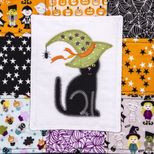 GO! Witchy Cat Treat Sack (PQ10674)