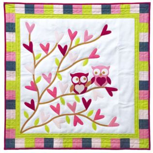 GO! Owl You Need is Love Wall Hanging Pattern (PQ10700)