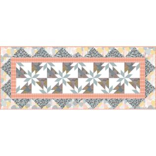 GO! Early Blossoms Bed Runner Pattern (PQ10707)