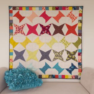 """GO! Qube 8"""" Spools and Kites Quilt pattern (PQ10744)"""