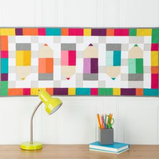 "GO! Qube 8"" Pencil Me In Wall Hanging Pattern (PQ11012)"