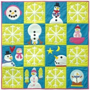 GO! Snow Much Fun Wall Hanging Pattern (PQ11020)