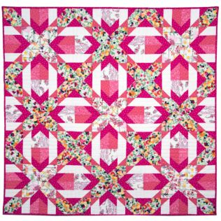 "GO! Qube 9"" Cutting Edge Throw Quilt Pattern (PQ10748Q)"