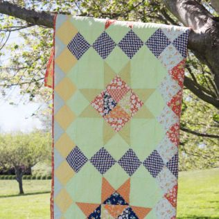 "GO! Qube 12"" Far Out Groovy Quilt (PQ11059)"