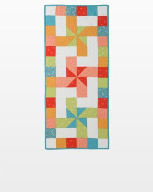 "GO! Qube 12"" Twirly Wirly Table Runner Pattern"
