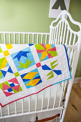 "GO! Qube 6"" Patch Party Sampler Quilt Pattern"