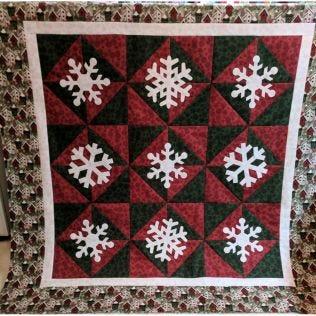 GO! Snowfall Quilt Pattern (PQ11469)