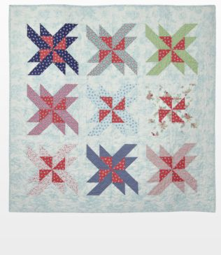 "GO! Qube 12"" Spin Fresh Quilt Pattern"