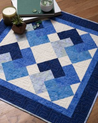 "GO! Qube 8"" Cardtrick Baby Quilt Pattern"