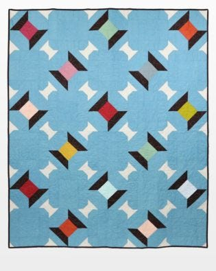 "GO! Qube 12"" Common Thread Quilt Pattern"