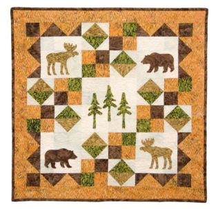 GO! Wild in Northwoods Quilt Pattern