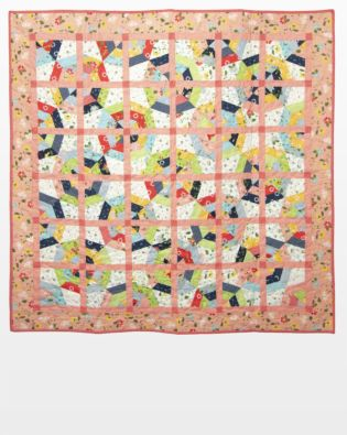 GO! Clover Hollow Spider Web Quilt Pattern