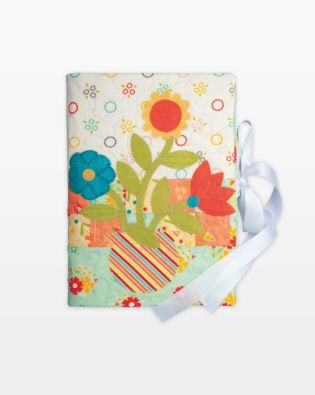GO! Blooming Book Cover Pattern