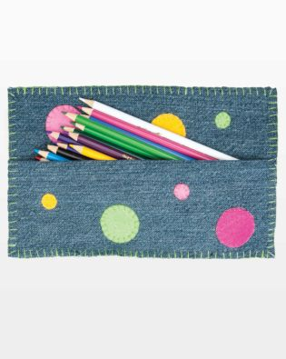 GO! On the Dot Pencil Bag Pattern