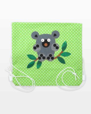 GO! Cuddle Me Koala Cinch Bag Pattern