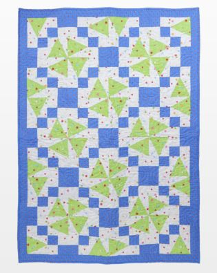 "GO! Qube 10"" Upbeat Angles Throw Quilt Pattern"