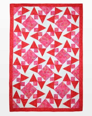 "GO! Qube 10"" Chuckle Strawberry Quilt Pattern"