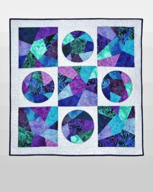 GO! Big Crazy Spotlights Quilt