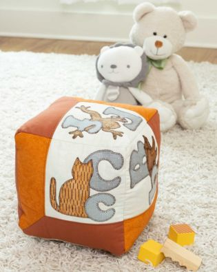 "GO! Qube 12"" Alphabet Pillow Pattern"