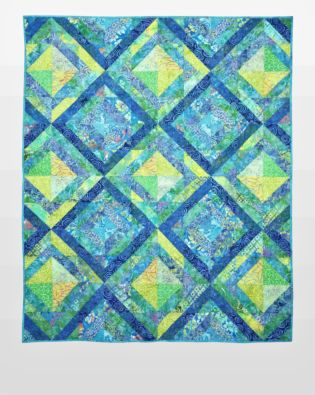 "GO! Qube 10"" Frames Quilt Pattern"