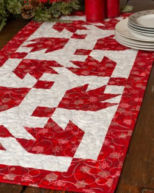 GO! Bear Tracks Table Runner Pattern